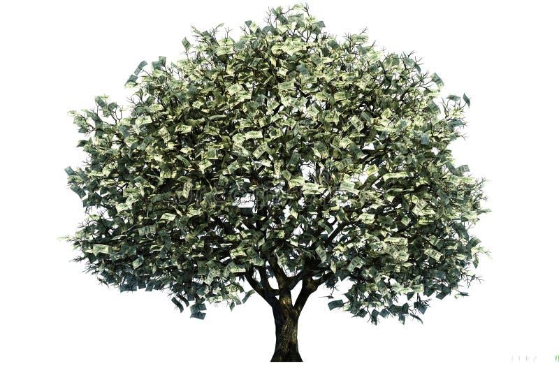 Árvore do dinheiro ilustração royalty free