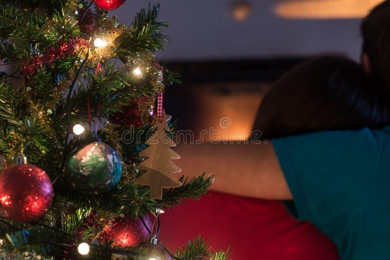 Árvore do feriado do Natal imagens de stock