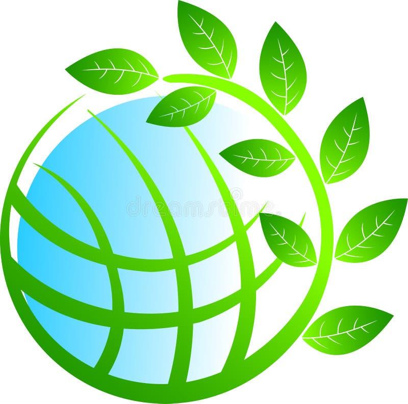 Árvore do globo ilustração do vetor