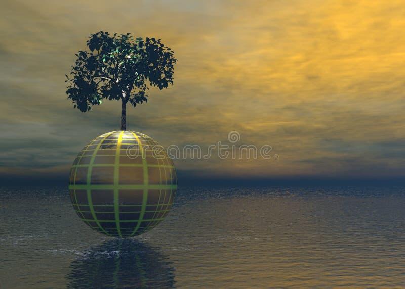 Árvore do mundo imagens de stock