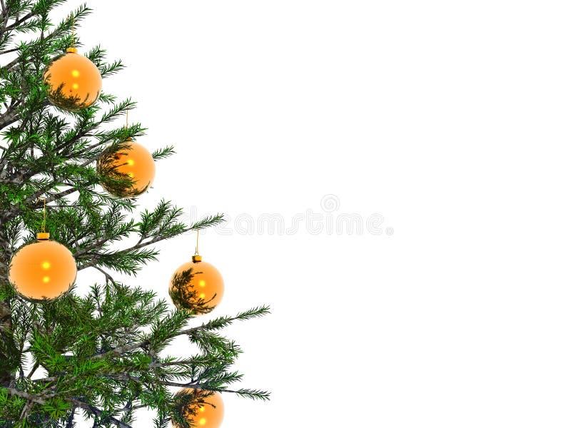 Árvore do Xmas ilustração stock