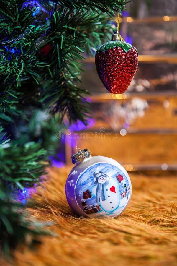 Árvore do Xmas foto de stock royalty free