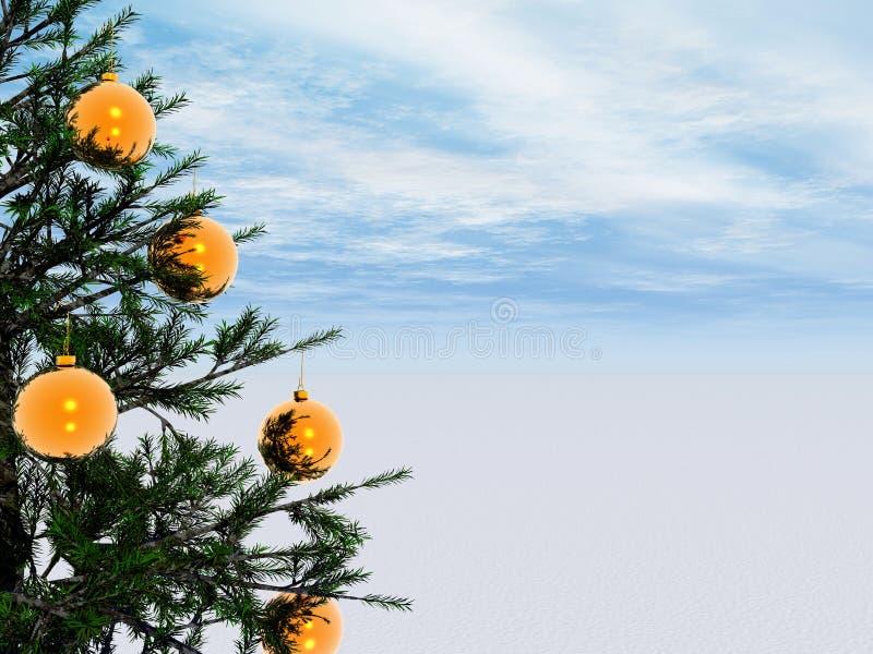 Árvore do Xmas ilustração do vetor