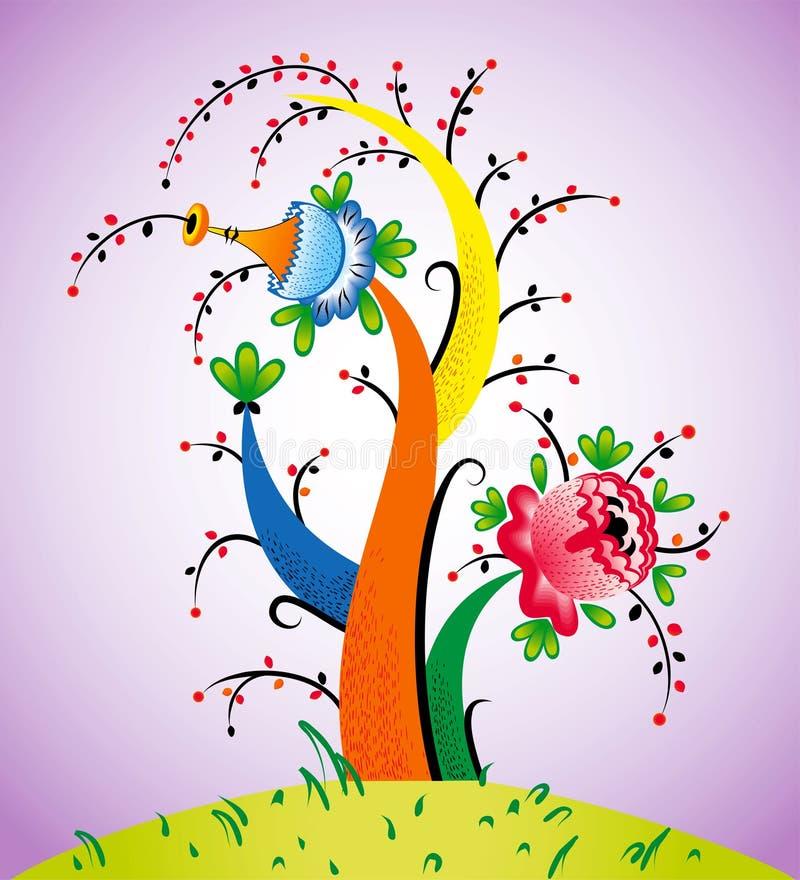 Árvore fabulosa ilustração stock