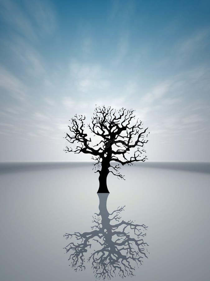 Árvore Só 2 Imagens de Stock