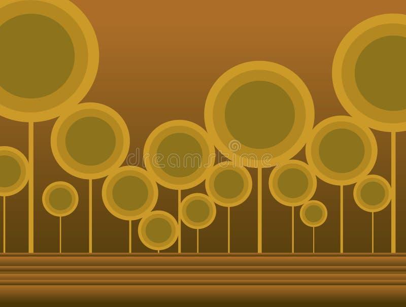 Download árvores ilustração stock. Ilustração de back, árvores, sumário - 542123