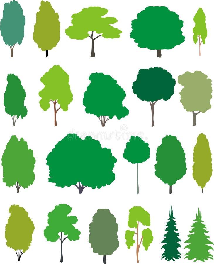 Árvores - jogo dos desenhos animados.