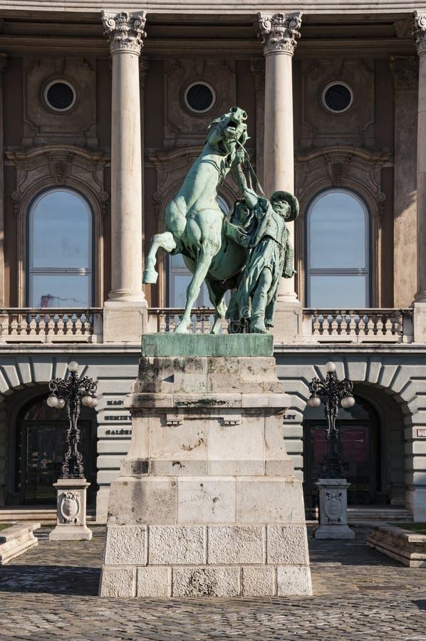 Ás real do amigo de Budapest imagem de stock