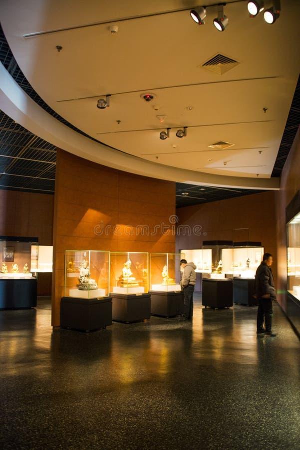 Download Ásia China, Pequim, Museu Principal, Salão De Exposição Interno Imagem de Stock Editorial - Imagem de luzes, exhibition: 65579879