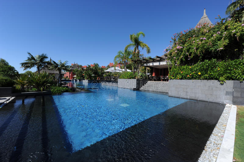 Ásia jardina hotel, Benidorm, Spain imagens de stock