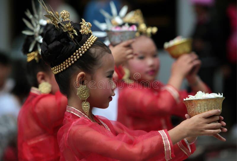 ÁSIA TAILÂNDIA CHIANG MAI AKA imagem de stock