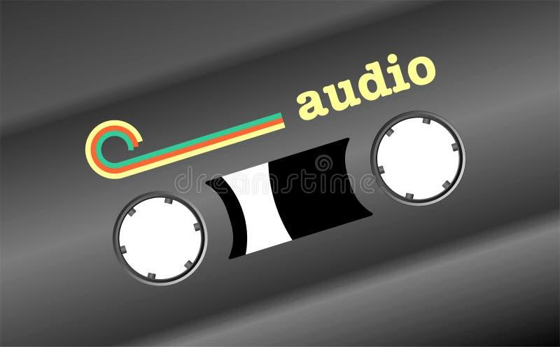 Áudio retro fotografia de stock
