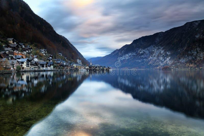 Áustria: Hallstatt imagem de stock