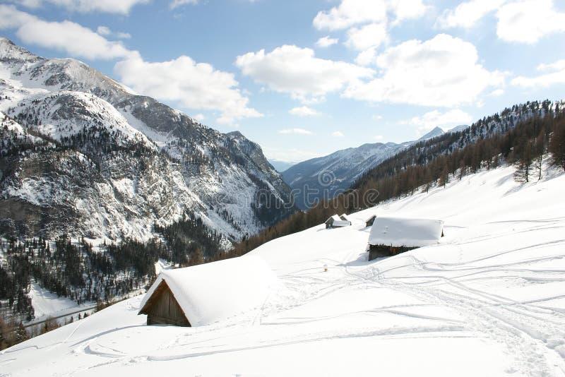 Áustria - inverno fotos de stock