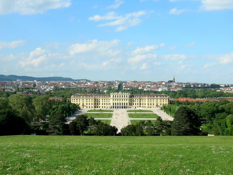 Áustria Palácio de Schonbrunn em Viena fotografia de stock