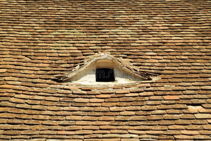 Áustria, telhas do telhado fotos de stock