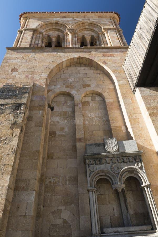 Ávila Castilla y León, España: Iglesia de San Vicente foto de archivo libre de regalías