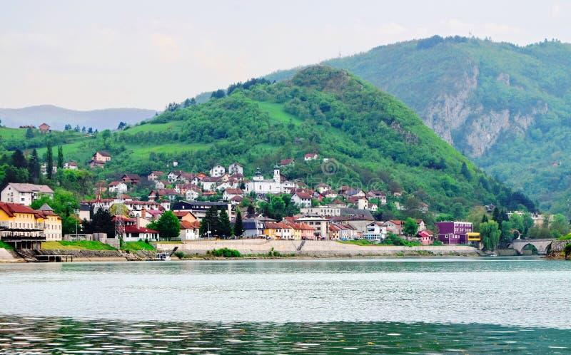 ¡De Mehmed PaÅ un puente del ‡ de SokoloviÄ en Visegrado, fotografía de archivo libre de regalías