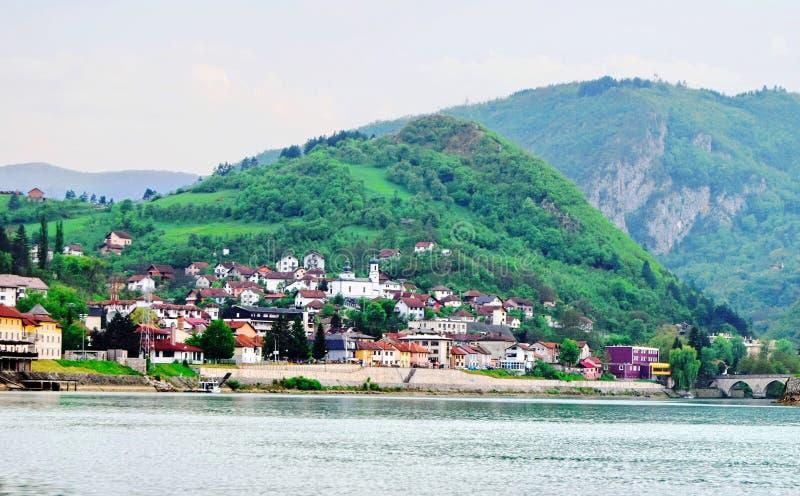 ¡De Mehmed PaÅ un puente del ‡ de SokoloviÄ en Visegrado, imágenes de archivo libres de regalías