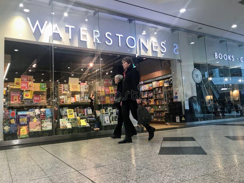 ¼ Œ Londres de storeï de Waterstones image stock