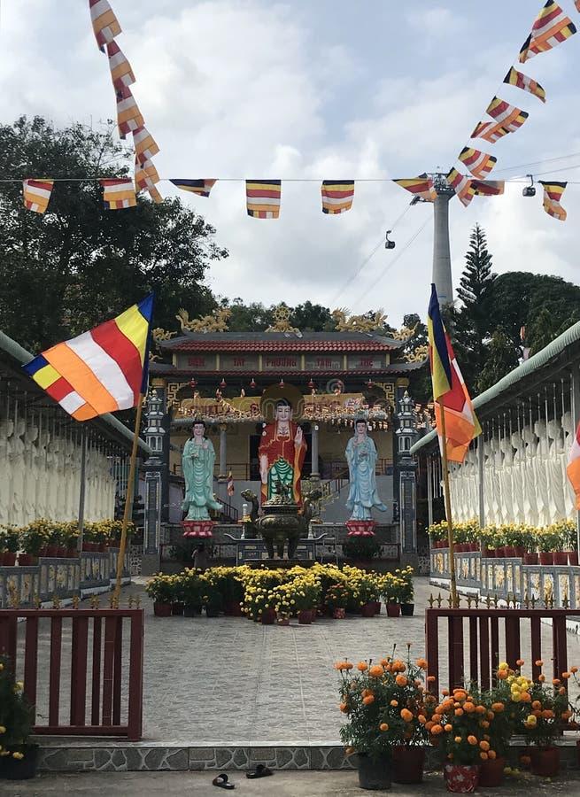 """'N Phú Quá"""" 'templo budista do ng à do ¹ do ¹ a Sà de Chà de c fotografia de stock"""