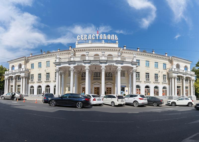 Hotel塞瓦斯托波尔 免版税图库摄影