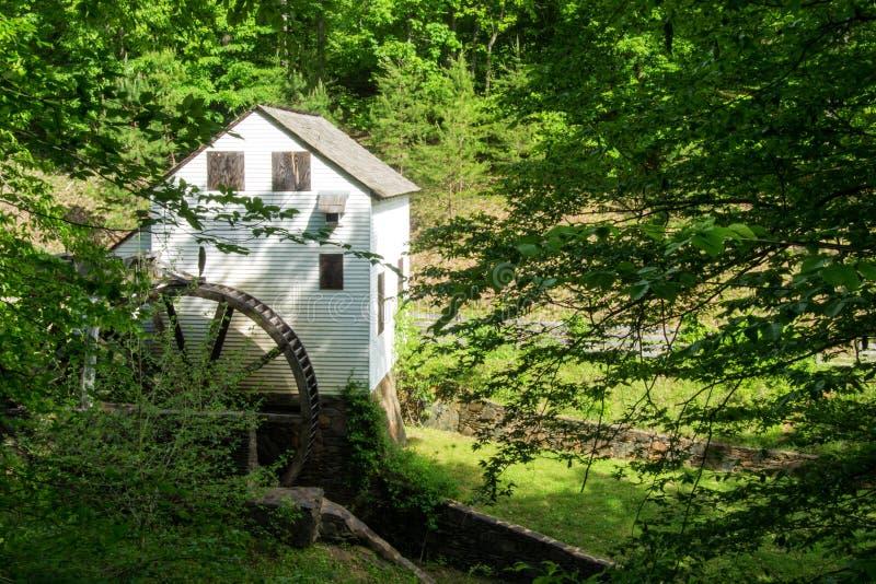 € мельницы шрота Slone's «исследует парк, Roanoke, Вирджинию, США стоковая фотография rf