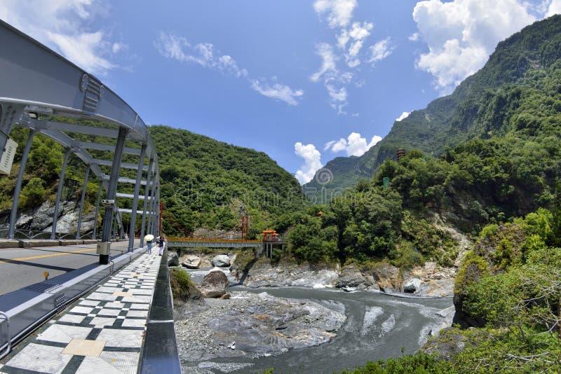 € ущелья Taroko «на Hualien, Тайване стоковые изображения rf