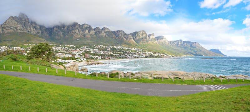 """€ """"Cape Town da praia da baía dos acampamentos, África do Sul fotografia de stock"""