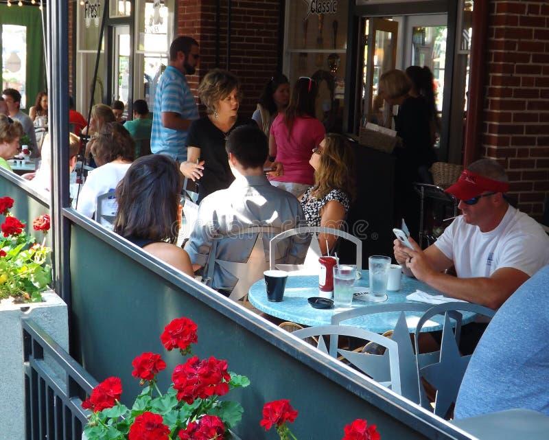 """€ """"Roanoke do restaurante do pátio, Virgínia, EUA imagens de stock"""