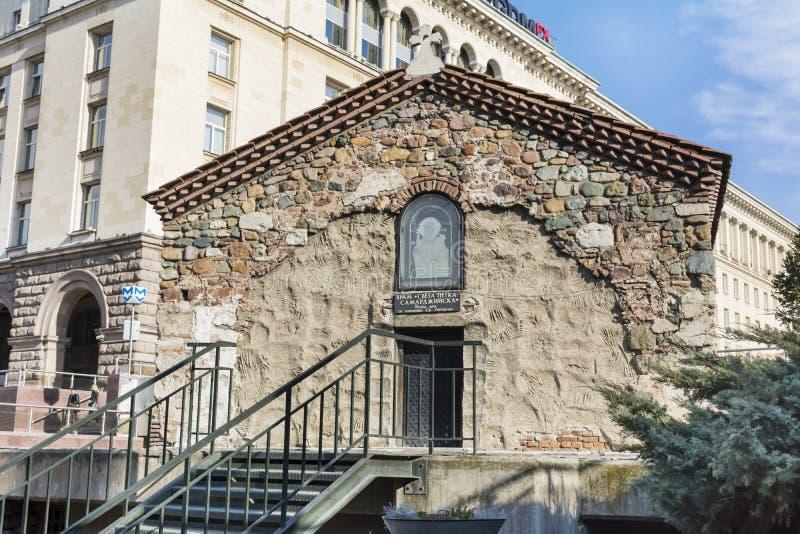 """€ """"Sofia City de la iglesia del  del St Petka Samardzhiyska†imagen de archivo"""