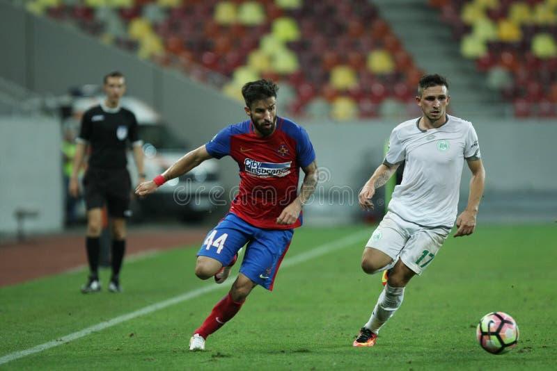"€ ""Concordia Chiajna Fußball Romania's Liga 1†""Steaua Bucuresti stockbilder"