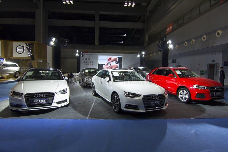 €» Audi de salon de l'Auto images libres de droits