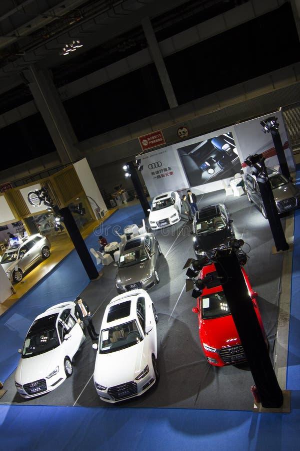 """€"""" Audi för auto show fotografering för bildbyråer"""