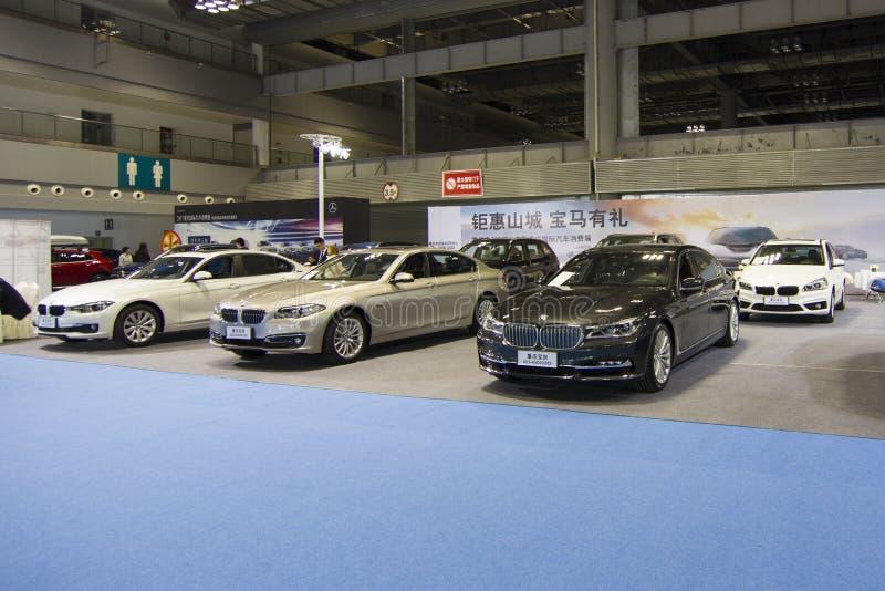 """€"""" BMW för auto show royaltyfri bild"""