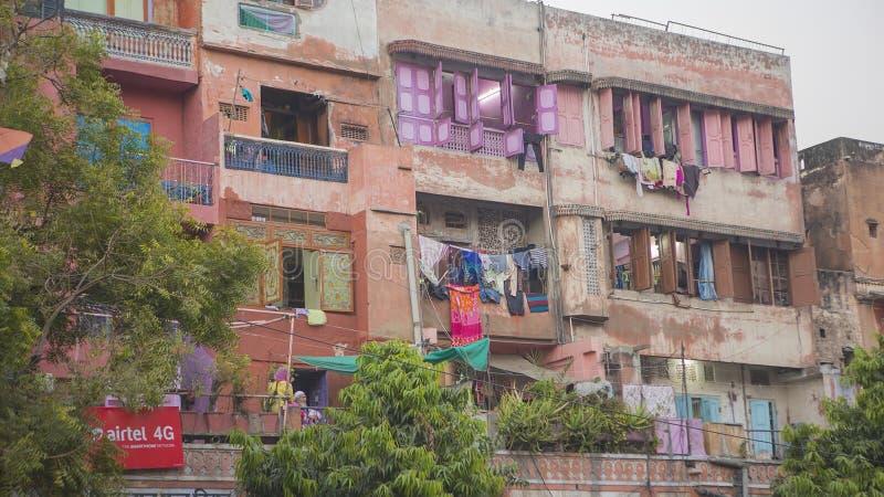 """€ di JAIPUR, Ragiastan, INDIA """"dicembre 2016: Vista sulla città di rosa di Jaipur immagini stock"""