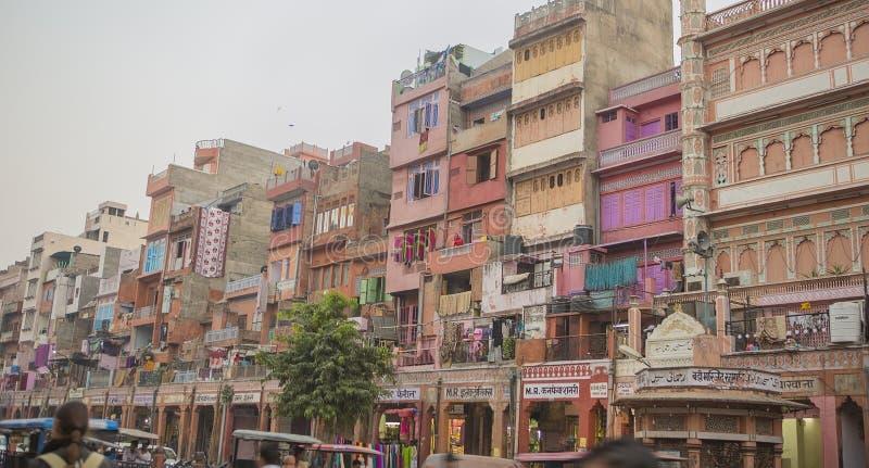 """€ di JAIPUR, Ragiastan, INDIA """"dicembre 2016: Vista sulla città di rosa di Jaipur immagine stock"""