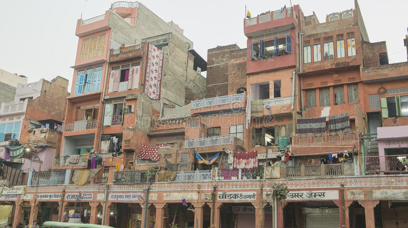 "€ di JAIPUR, Ragiastan, INDIA ""dicembre 2016: Vista sulla città di rosa di Jaipur immagine stock libera da diritti"