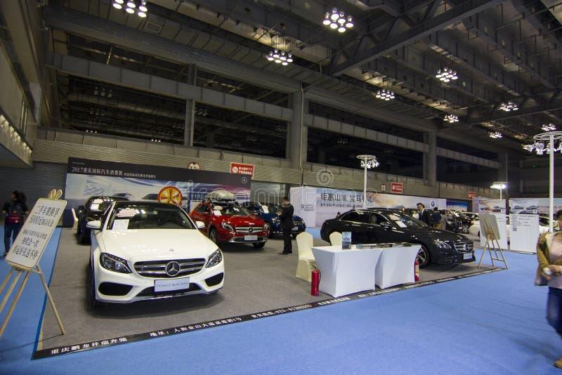 """€"""" Mercedes Benz da feira automóvel imagem de stock royalty free"""