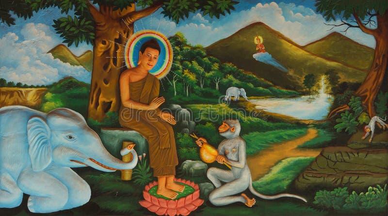 ⠁ życie Buddha zdjęcia stock