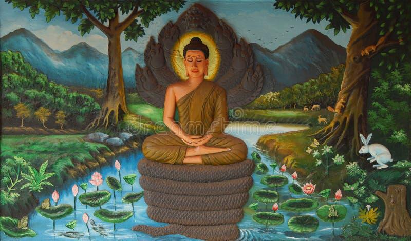 ⠁ życie Buddha fotografia royalty free