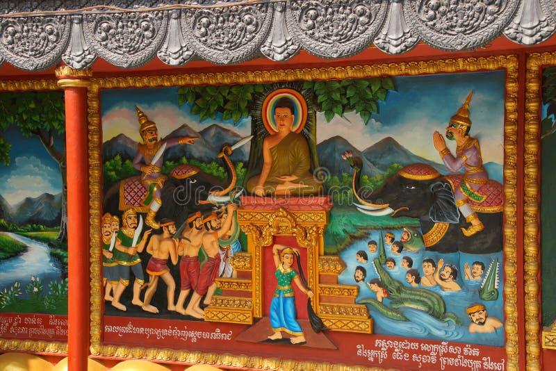 ⠁ życie Buddha obrazy royalty free