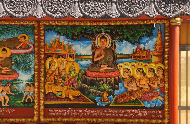 ⠁ życie Buddha zdjęcie royalty free
