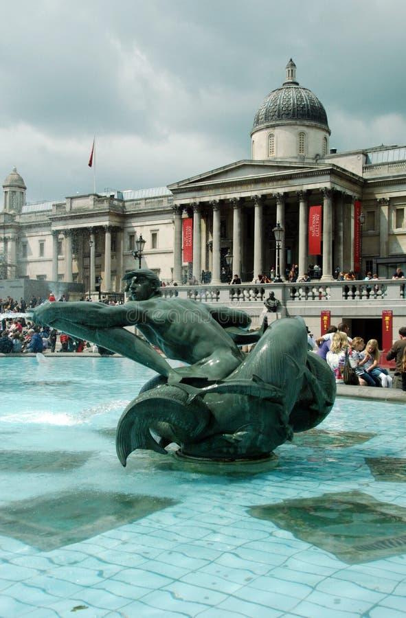 1 de la fuente de Londres fotografía de archivo