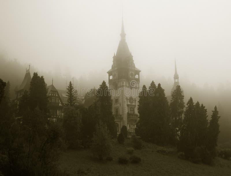 Roumanie de château de Peles images libres de droits