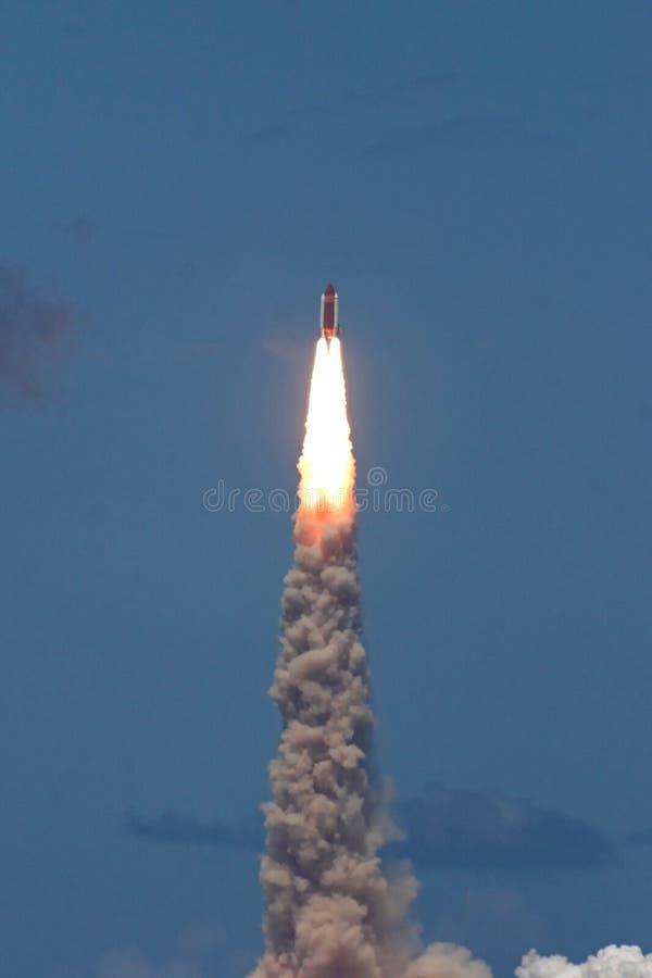 STS 121 do lançamento da canela de espaço foto de stock royalty free