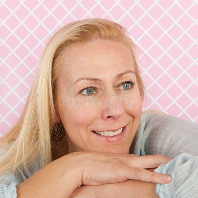 Âge mûr de femme de portrait photos stock