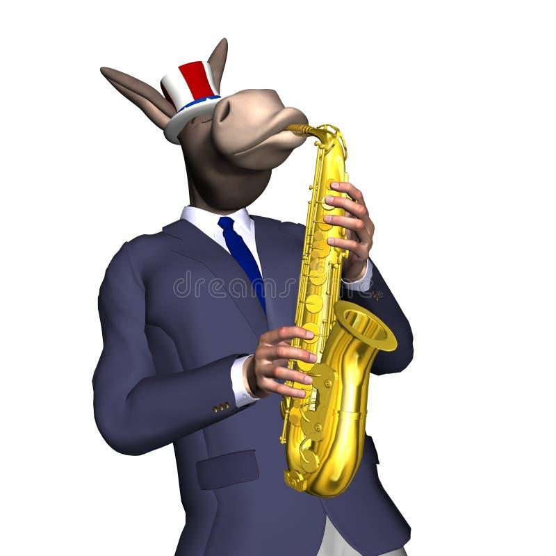 Âne - jazz doux 1 illustration libre de droits