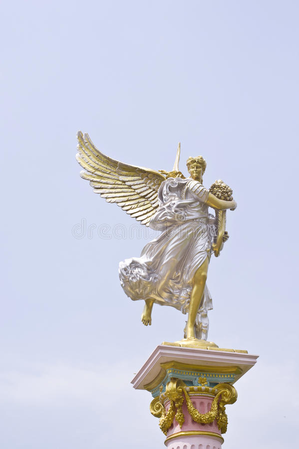 Ângulo romano da estátua foto de stock royalty free