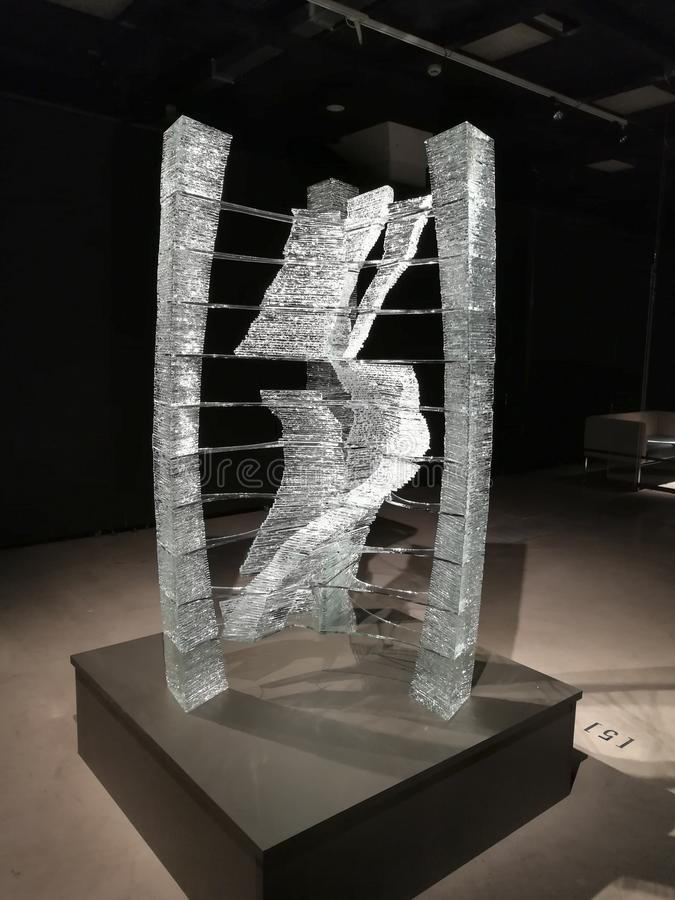 """Gaiss†在陈列的Aere雕塑 免版税图库摄影"